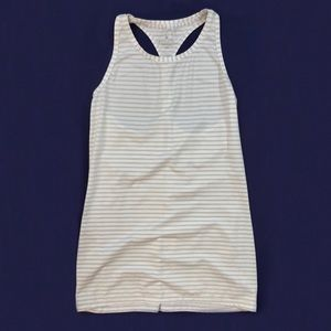 Women's Athleta Striped Racerback Tank